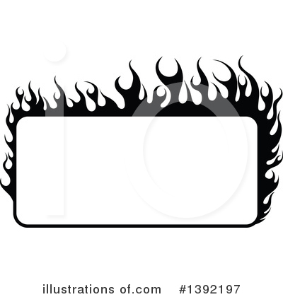 Royalty-Free (RF) Flames Clipart Illustration by dero - Stock Sample #1392197
