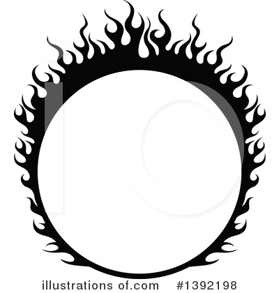 Flames Clipart #1392198 by dero