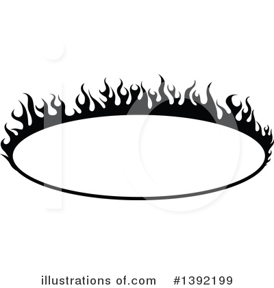 Flames Clipart #1392199 by dero