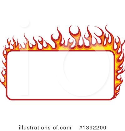 Flames Clipart #1392200 by dero