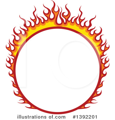 Flames Clipart #1392201 by dero