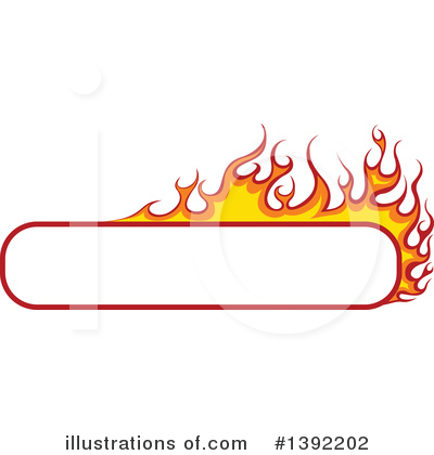 Flames Clipart #1392202 by dero