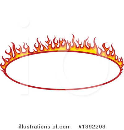 Flames Clipart #1392203 by dero