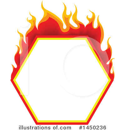 Flames Clipart #1450236 by dero
