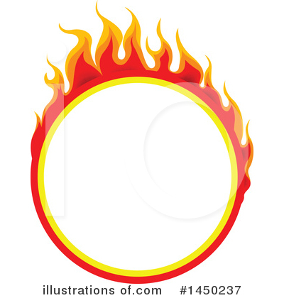 Flames Clipart #1450237 by dero