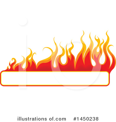 Flames Clipart #1450238 by dero