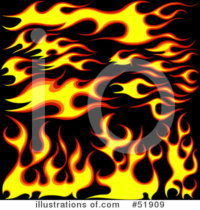 Flames Clipart #51909 by dero