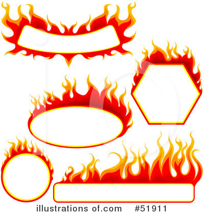 Flames Clipart #51911 by dero