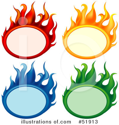 Flames Clipart #51913 by dero