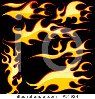 Flames Clipart #51924 by dero