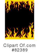Flames Clipart #82389 by KJ Pargeter