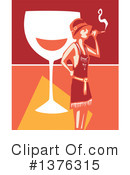 Flapper Girl Clipart #1376315 by xunantunich