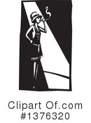 Flapper Girl Clipart #1376320 by xunantunich