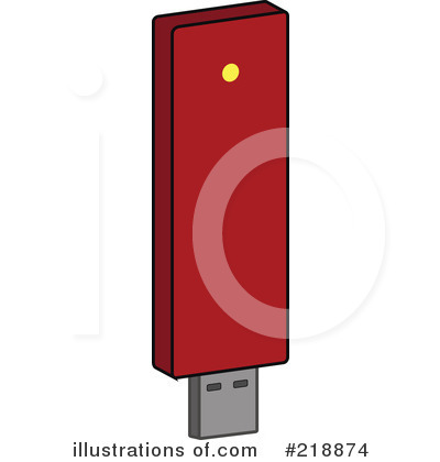 Royalty free rf flash drive clipart illustration by jr stock
