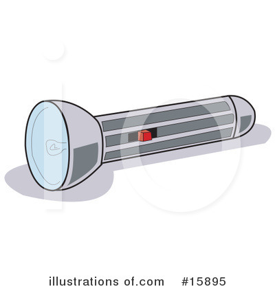 Flashlight Clipart #15895 by Andy Nortnik