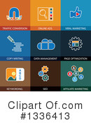 Flat Icons Clipart #1336413 by ColorMagic