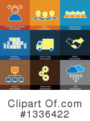 Flat Icons Clipart #1336422 by ColorMagic