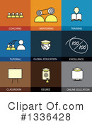 Flat Icons Clipart #1336428 by ColorMagic
