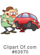 Flat Tire Clipart #63970 by gnurf