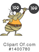 Royalty-Free (RF) Flea Clipart Illustration #1400780