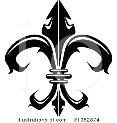 Fleur De Lis Clipart #1062874 by Vector Tradition SM