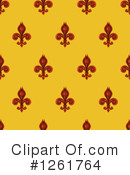 Royalty-Free (RF) Fleur De Lis Clipart Illustration #1261764