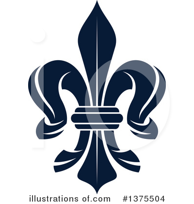Royalty-Free (RF) Fleur De Lis Clipart Illustration by Vector Tradition SM - Stock Sample #1375504