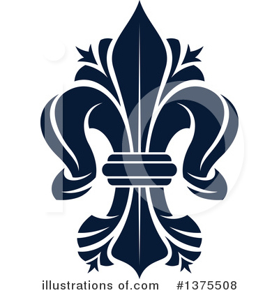 Royalty-Free (RF) Fleur De Lis Clipart Illustration by Vector Tradition SM - Stock Sample #1375508