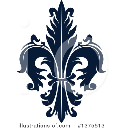 Royalty-Free (RF) Fleur De Lis Clipart Illustration by Vector Tradition SM - Stock Sample #1375513