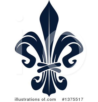 Royalty-Free (RF) Fleur De Lis Clipart Illustration by Vector Tradition SM - Stock Sample #1375517
