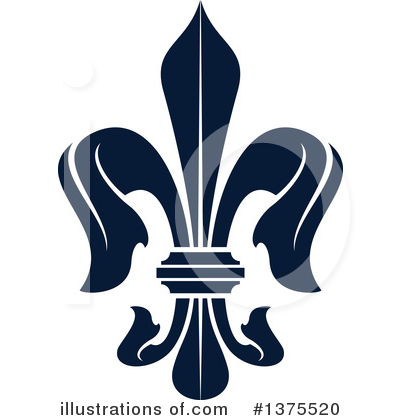 Royalty-Free (RF) Fleur De Lis Clipart Illustration by Vector Tradition SM - Stock Sample #1375520