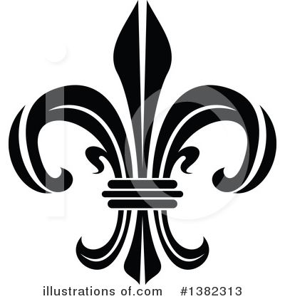 Royalty-Free (RF) Fleur De Lis Clipart Illustration by Vector Tradition SM - Stock Sample #1382313