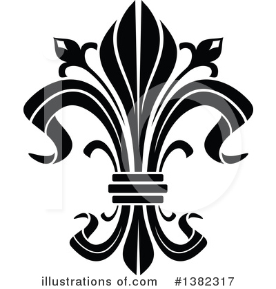 Royalty-Free (RF) Fleur De Lis Clipart Illustration by Vector Tradition SM - Stock Sample #1382317