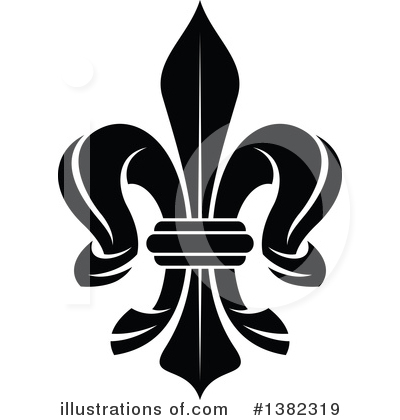 Royalty-Free (RF) Fleur De Lis Clipart Illustration by Vector Tradition SM - Stock Sample #1382319