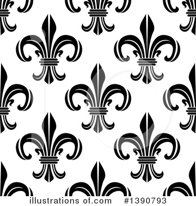 Fleur De Lis Clipart #1390793 by Vector Tradition SM