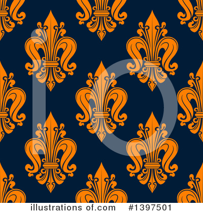 Fleur De Lis Clipart #1397501 by Vector Tradition SM