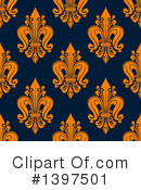 Royalty-Free (RF) Fleur De Lis Clipart Illustration #1397501