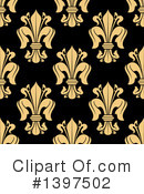 Royalty-Free (RF) Fleur De Lis Clipart Illustration #1397502