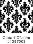 Royalty-Free (RF) Fleur De Lis Clipart Illustration #1397503