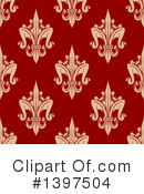 Royalty-Free (RF) Fleur De Lis Clipart Illustration #1397504