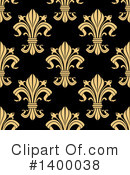 Royalty-Free (RF) Fleur De Lis Clipart Illustration #1400038