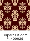 Royalty-Free (RF) Fleur De Lis Clipart Illustration #1400039
