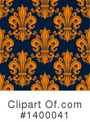 Royalty-Free (RF) Fleur De Lis Clipart Illustration #1400041