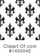 Royalty-Free (RF) Fleur De Lis Clipart Illustration #1400042