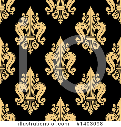 Fleur De Lis Clipart #1403098 by Vector Tradition SM