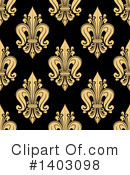 Royalty-Free (RF) Fleur De Lis Clipart Illustration #1403098