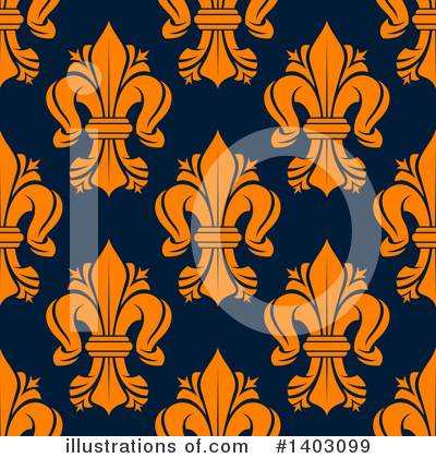 Fleur De Lis Clipart #1403099 by Vector Tradition SM