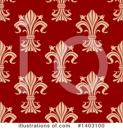 Fleur De Lis Clipart #1403100 by Vector Tradition SM