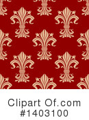 Royalty-Free (RF) Fleur De Lis Clipart Illustration #1403100