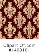 Royalty-Free (RF) Fleur De Lis Clipart Illustration #1403101